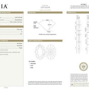 1.02ct G SI1 Oval Cut Diamond- GIA Cert