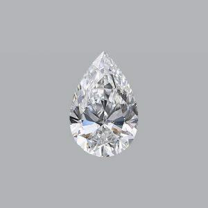 3.33ct E SI2 Pear Shape Diamond - GIA CERT