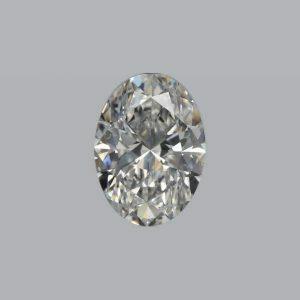 1.04ct F SI1 Oval Cut Diamond