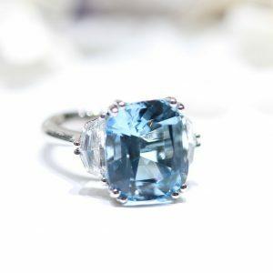 9.72ct Aquamarine Azure Ring