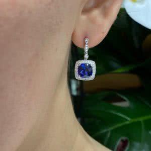 The Seta Blu Earrings