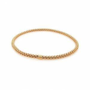 18ct rose gold stretchy bracelet